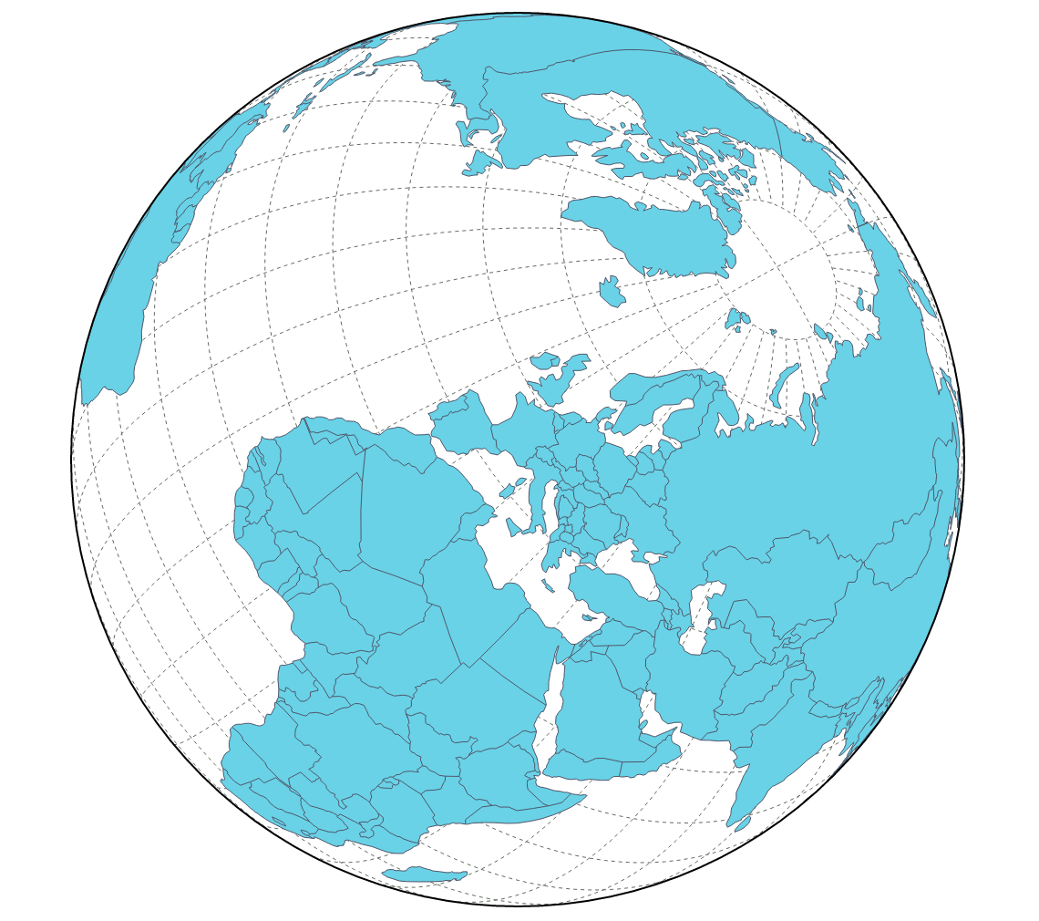 Rotate The World - Globe map of the world