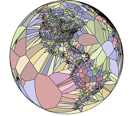 World Airports Voronoi